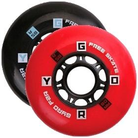 Колеса для роликовых коньков купить Gyro F2R '10