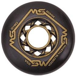 Колеса для роликовых коньков купить Gyro Martin Sloboda black gold 12