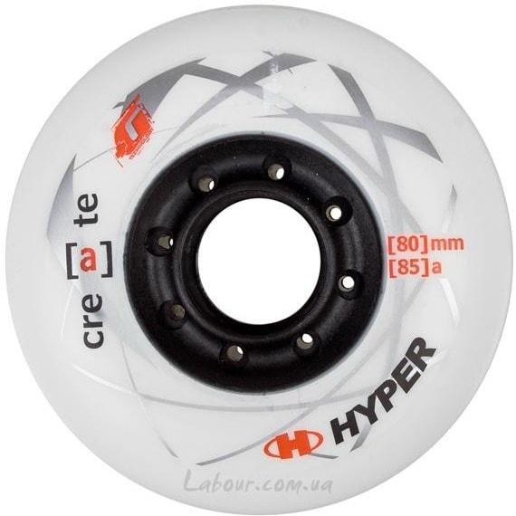 Колеса для роликовых коньков купить Hyper Create+Grip '13