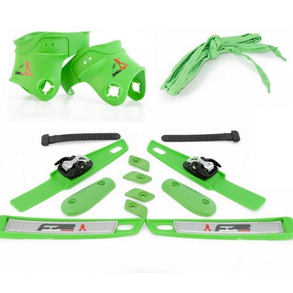 Запчасти для роликовых коньков купить Seba FR Custom Kit (Green) 2011 jpg