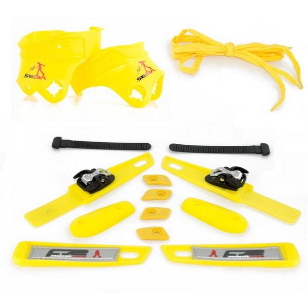Запчасти для роликовых коньков купить Seba FR Custom Kit (Yellow) 2011 jpg